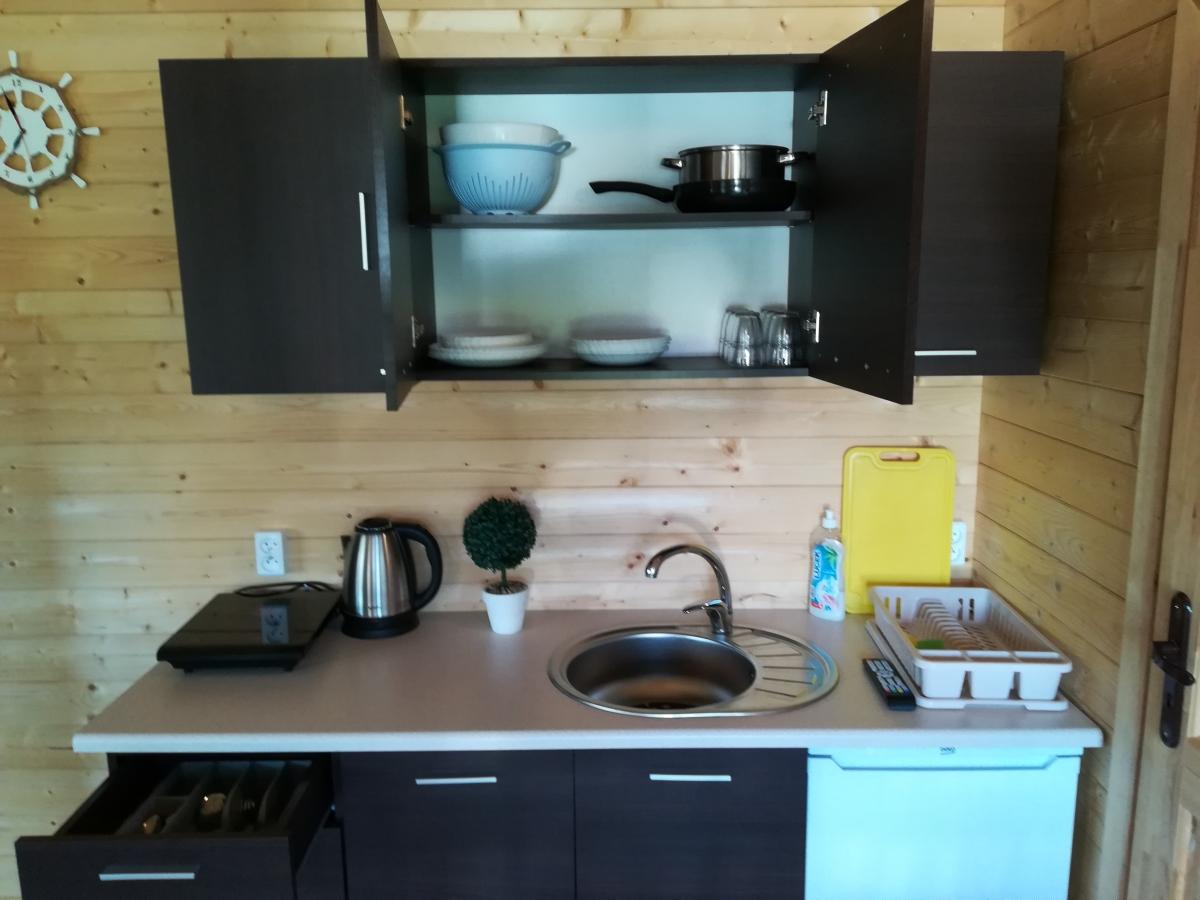 kuchnia domki nad morzem 2